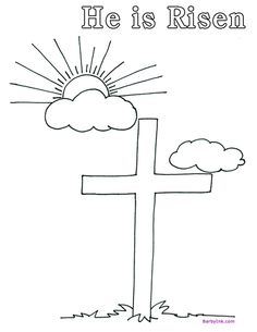 Doubting Thomas Coloring Pages