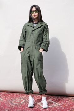 Jumpsuits For Women Are Back! Jumpsuits For Women Are Back! Source […] The post Jumpsuits For Women Are Back! appeared first on How To Be Trendy. Single Piece Dress, Boiler Suit, Moda Boho, Moda Vintage, Jumpsuits For Women, Green Jumpsuits, Fashion Jumpsuits, Mode Hijab, Overall