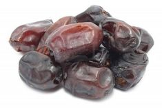 Dates- they boost estrogen levels and are a laxative. they are a good sourceof boron which prevents calcium loss. very important in fighting against osteoporosis and weakening of the bones. they contain vitamin a,b1, b2, c and d. and lets not forget valuable mineral salts and fiber