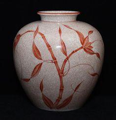 Fritz von Stockmayer. Vase, Rosenthal Kunstabteilung, Modell 2549 ?? Höhe 25 cm.