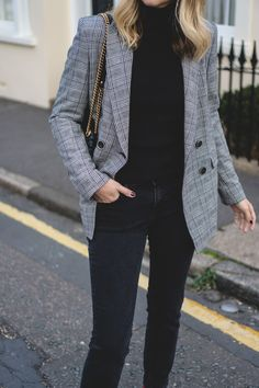 Checked blazer | ejstyle.co.uk