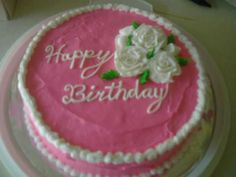 Birthday cake 2010