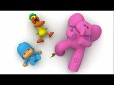 Pocoyo! Wes' favorite... Sanity for me