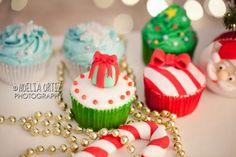 Cupcakes navideños / Christmas cupcakes