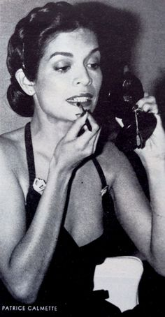 Bianca Jagger, 1976 by Patrice Calmette