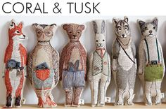 Coral and Tusk Embroidery : Magic In Every Thread