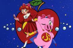 Ai to Yuuki no Pig Girl Tonde Buurin 愛と勇気のピッグガール とんでぶーりん 1994 Manga Anime, Anime Art, Female Characters, Disney Characters, Fictional Characters, Pig Girl, Arte Nerd, Animation, Doraemon