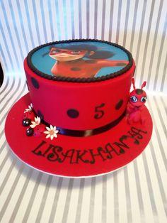 contact carolthecakelady for kids birthday cakes. Birthday Cake Girls, Birthday Cakes, Miraculous Ladybug Party, Ladybug Cakes, Girl Cakes, Lady Bug, Themed Cakes, Mariana, Cars Birthday Parties