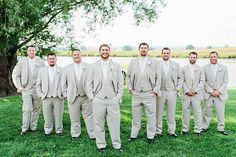 Rustic groomsmen. Image by Nicole Corrine