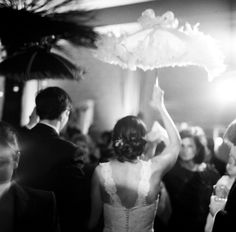 A wonderful tradition & perfect for your wedding...New Orleans' Second Line to the reception!