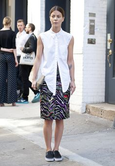 New York Fashion Week Street Style: Our Favorite Looks From Day 1 & 2 (PHOTOS)