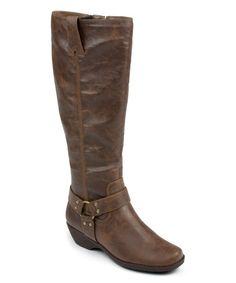 Another great find on #zulily! Dark Brown In an Instint Wide-Calf Boot #zulilyfinds