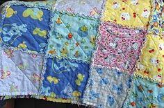 I've made three of these rag quilts for my granddaughters. They are easy to make and turn out beautifully!