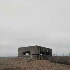 lmhs42:      Bunker by ben_patio on Flickr.      Rye Harbour, England