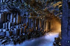 The Horocrux Cave? (Fingal's Cave)