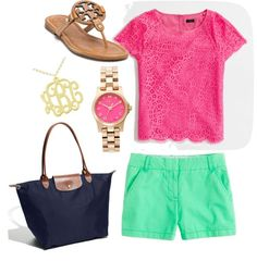 """Summer lovin'"" by abbywidger ❤ liked on Polyvore"