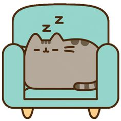 Sleep Chill Sticker by Pusheen for iOS & Android Gato Pusheen, Pusheen Cute, Have A Good Night, Good Night Sleep, Disney Drawings, Cute Drawings, Pusheen Stickers, Simons Cat, Kawaii Cat