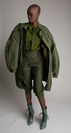 Vintage Military Surplus Parka