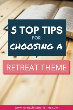 When it's time to plan a women's retreat, one of the first things to do is choose a theme. Here are top tips for ensuring you choose right for your group. Christian Retreat, Christian Camp, Family Reunion Games, Family Games, Family Reunions, Women's Retreat, Retreat Ideas, Youth Group Activities, Youth Groups