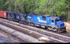 CONRAIL QUALITY RAILWAY - 6776 - Alco C630 em Rockville, Pensilvânia por WILLIAM KLAPP