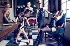 Dutch Vogue's First Editorial Honors Amsterdam