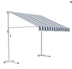 awning for over a de