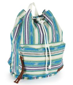 Love this bag! found it on aeropostale.com  Multi-Stripe Cinched Backpack