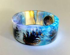 resin bangle bracelet – Etsy