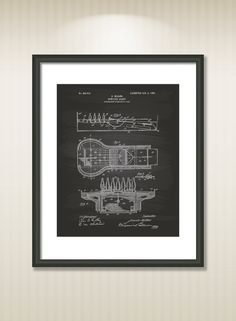 Bowling Alley 1906 Patent Art Illustration Drawing by TawerArt