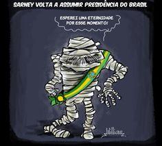 Sarney volta a assumir a presidência do Brasil 22 anos depois