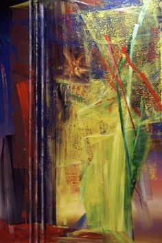 Gerhard Richter, Victoria II  1986. Catalogue Raisonné: 602. http://www.gerhard-richter.com/art/paintings/abstracts/detail.php?paintid=6731#