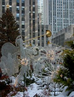 Holyday at the Rockefeller center, NYC Copyright: Dovi Barak