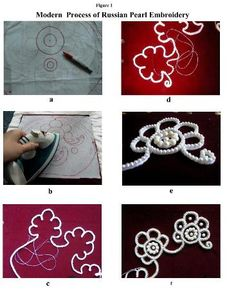 """Russian pearl embroidery how-to."""