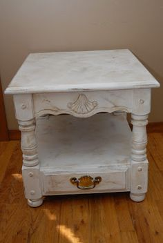 Detroit: Shabby Chic End Table or Night Stand $95 - http://furnishlyst.com/listings/137627