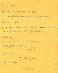 Hélio Oiticica poem 2