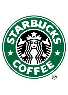 Pôster Starbucks Colorido.