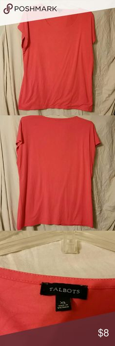 Talbots Red Talbots t-shirt Talbots   Tops Tees - Short Sleeve