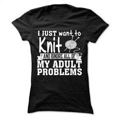 Knitting Tshirt and hoodie T Shirts, Hoodies, Sweatshirts - #wholesale hoodies #blank t shirt. BUY NOW => https://www.sunfrog.com/No-Category/Knitting-Tshirt-and-hoodie-Ladies.html?id=60505