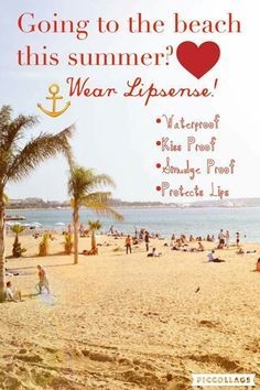 LipSense is perfect for that beach vacation! Order at senegence.com Distributor# 276228 or check out my Facebook page at https://www.facebook.com/groups/HOTLips1/