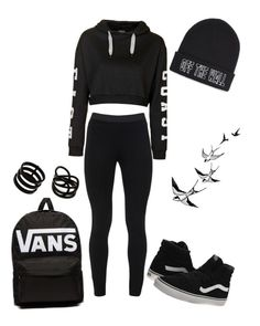 """""""#Vans"""" by tayeisbi25 on Polyvore featuring Peace of Cloth, Topshop, Vans, Repossi, women's clothing, women, female, woman, misses and juniors"""