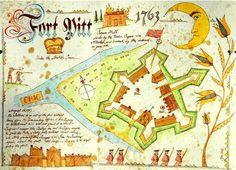 British Fort Pitt - 1763