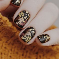 The Best Fall Nails Color Designs And Ideas With Your Nails - Nail Art Connect Fall Nail Art, Autumn Nails, Fall Nail Colors, Colorful Nail Designs, Fall Nail Designs, Fall Patterns, Professional Nails, Jewel Tones, Fall Hair
