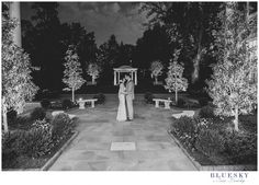 duke mansion outdoor photo ceremony