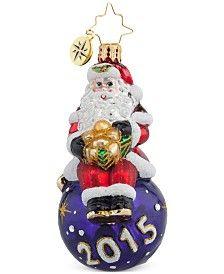 Christopher Radko A Year for Cheer Gem Ornament