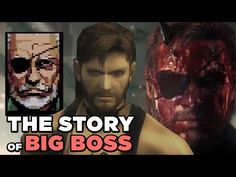 Big Boss Biography - Metal Gear Solid V: The Phantom Pain - YouTube