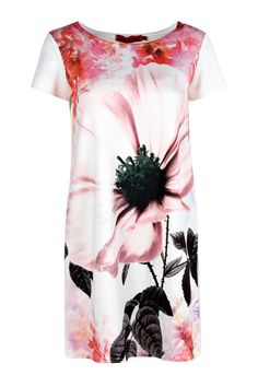 Olivia Oversized Floral Shift Dress alternative image