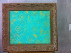 Tela Sois Verdes em pintura acrilica e tecnica mista 2013  - 65x75 - acrylic on canvas - Melina Ollandezos