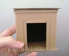 Кукольный домик из картона. Делаем своими руками для любимых кукол | podelki-doma.ru