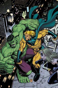 #Hulk #Fan #Art. (HULK #8) By: Art Adams. ÅWESOMENESS!!!™ ÅÅÅ+