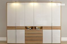 Closet lighting for wardrobe closet also for the bedroom lighting which will beautify your room Oak Wardrobe, Wooden Wardrobe, Sliding Wardrobe Doors, Wardrobe Furniture, Wardrobe Closet, Built In Wardrobe, Closet Doors, Sliding Doors, Wardrobe Interior Design